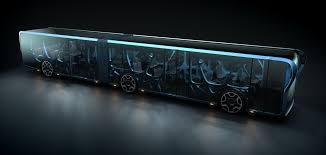 concept bus this transparent lcd bus will inspire rubbernecking everywhere it