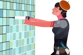 how to wallpaper in the bathroom wallpapering instructions