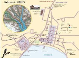 Show Me A Map Of Alaska by Maps Of Haines Haines Alaska Community Website