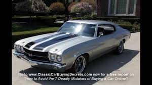 old muscle cars 1970 chevy chevelle ss clone classic muscle car for sale in mi