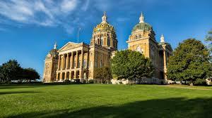 Iowa State Capitol by Iowa State Flower Wallpaper
