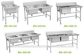 simply kitchen stainless steel sink with stand frame view