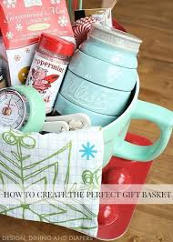 baking gift basket how to create the gift basket free printable