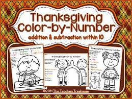 Thanksgiving Color By Number 65 Best Color By Number Images On Pinterest Color By Numbers