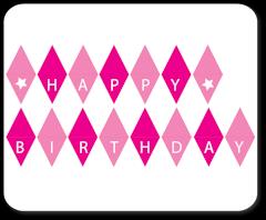 free printable birthday cake banner cakebuntingpink birthday party ideas pinterest planets cake
