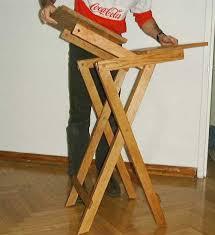 Wood Folding Table Plans Folding Table