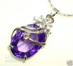 amethyst necklace pendant images Wholesale women 39 s jewellery attractive amethyst pendant necklace jpg