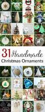 31 handmade christmas ornaments domestically speaking