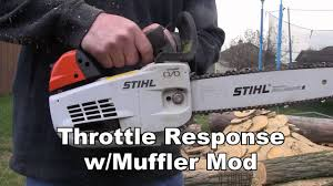 stihl ms201t modded youtube