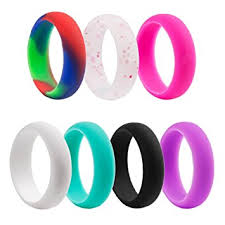 silicone wedding bands silicone wedding ring for women silicone wedding