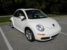volkswagen white convertible for sale 2008 triple white 15 899 20 miles newbeetle