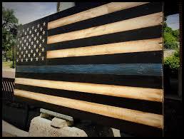 Flag Law 48 Blue Line Flag Large American Flag Large Thin Blue Line Flag