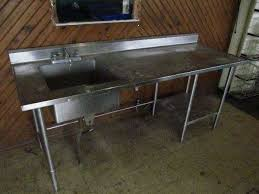stainless steel prep table with sink stainless steel prep table with sink befon for