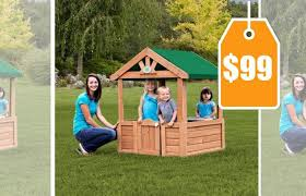 Backyard Discovery Winchester Playhouse Backyard Discovery Playhouse Backyard Discovery Cozy Wooden