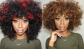 how to cut shape and style curly wigs jessica pettway youtube