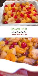 baked fruit never enough thyme