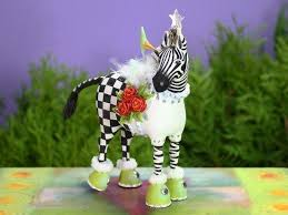 zebra ornament my