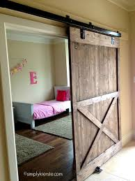 sliding barn door ideas to get the fixer look