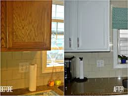 Before And After Painted Kitchen Cabinets by 100 Refinishing Kitchen Cabinets Before And After Before