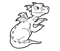 dragon coloring pages simple printable coloring pages dragons