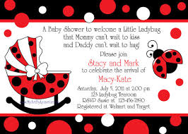 ladybug baby shower ladybug baby shower invitations marialonghi