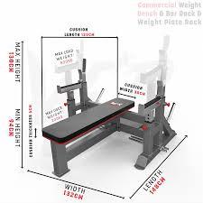 commercial weight bench u0026 bar rack u0026 weight plate rack chest press