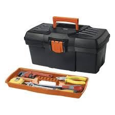 black decker 17 in tool box