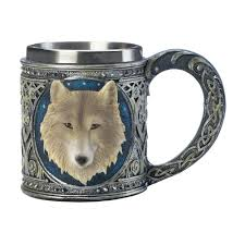timber wolf mug wholesale at koehler home decor