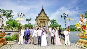 western wedding thai western wedding package weddings in koh samui at