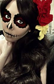 Face Makeup Designs For Halloween by Best 25 Dead Makeup Ideas On Pinterest Day Of Dead Makeup