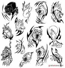 attractive black tribal tattoos designs