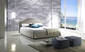 best calm relaxing bedroom ideas with white curtain and glass wall