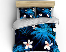 Bed And Bath Duvet Covers Hawaiian Duvet Cover Etsy