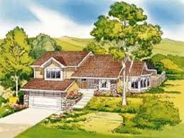 Hillside Home Plans House Plans With Daylight Walkout Basement For Homes Built Into