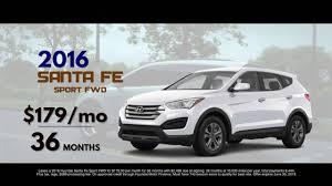 hyundai santa fe leasing 2016 hyundai santa fe 179 mo lease safford hyundai