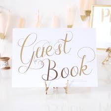guest book sign in wedding guest book sign
