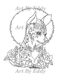art of chihuahua coloring book volume no 1 downloadable