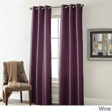 Wine Colored Curtains 84 Inches Curtains Drapes For Less Overstock