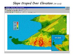Grid Map Mapcalc Display Options