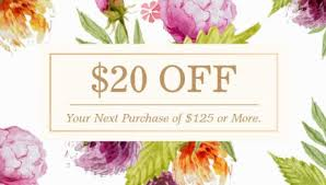 Beauty Spa Business Cards Girly Coupon And Promotional Discount Business Cards Girly