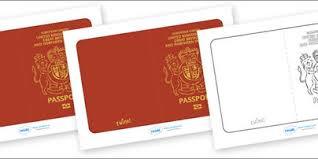 printable passport play pretend travel pinterest passport
