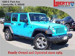 jeep wrangler unlimited sport blue 2017 jeep wrangler jk wrangler unlimited sport 4x4 in libertyville