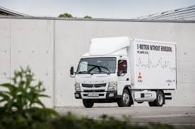 future bugatti truck how the fuso canter e cell electric truck could deliver the future