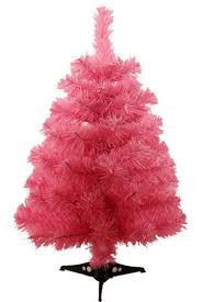delightful decoration small pink christmas tree pretty in
