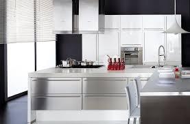 cuisine blanche mur aubergine 11 meuble cuisine laqu meuble de