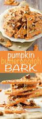 recetas para thanksgiving pumpkin butterscotch bark receta la la la postres y calabazas