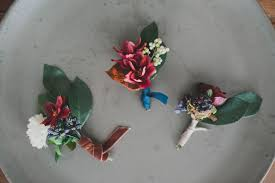 how to make boutonnieres diy silk flower boutonnieres green wedding shoes