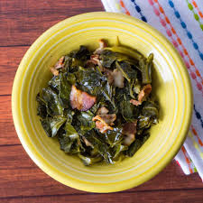 pressure cooker collard greens with bacon dadcooksdinner