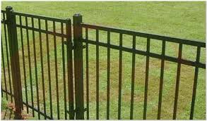awesome ornamental iron fence fresno for fence gate