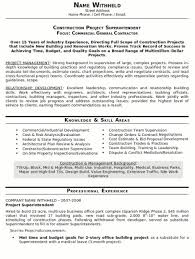General Contractor Resume Sample by Resume Sample 20 Construction Superintendent Resume Career Resumes